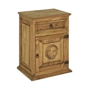 Rustic Specialists Texas Star Texas Star Right Door Nightstand