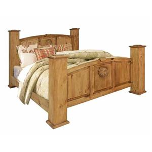 Rustic Specialists Texas Star Texas Star King Bed