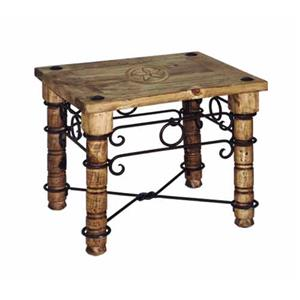 Rustic Specialists Texas Star End Table