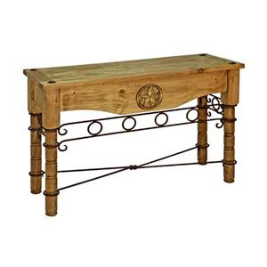 Rustic Specialists Texas Star Texas Star Sofa Table