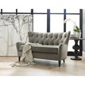 Sam Moore Houlihan Traditional Settee with Tufted Back
