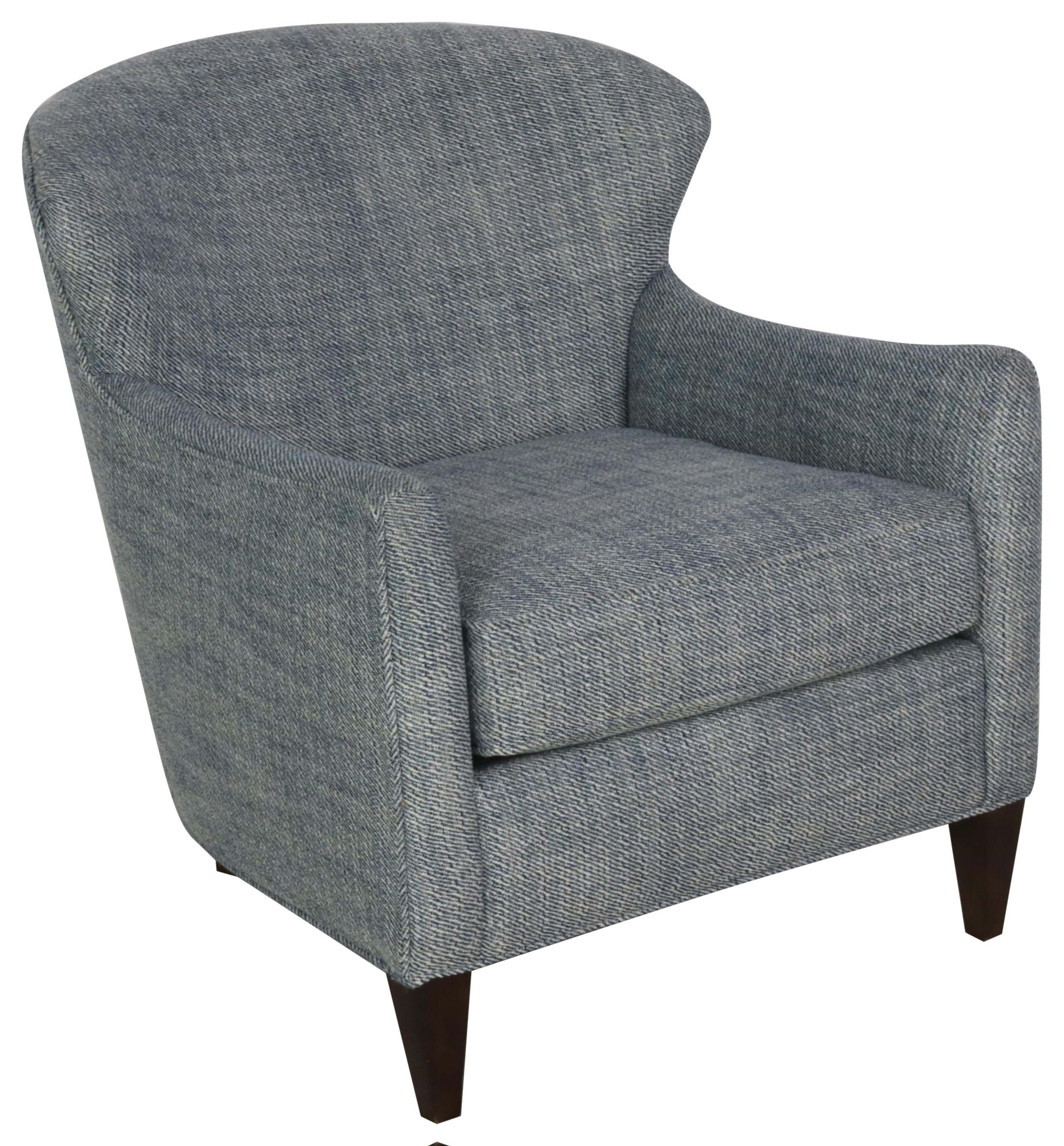Accent Chair Wing Chair by Sam Moore at Sprintz Furniture