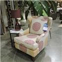 Sam Moore Clearance Wing Chair - Item Number: 2520200839