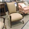 Sam Moore Clearance Wood Frame Chair - Item Number: 402511568