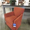 Sam Moore Clearance Swivel Chair - Item Number: 486333464