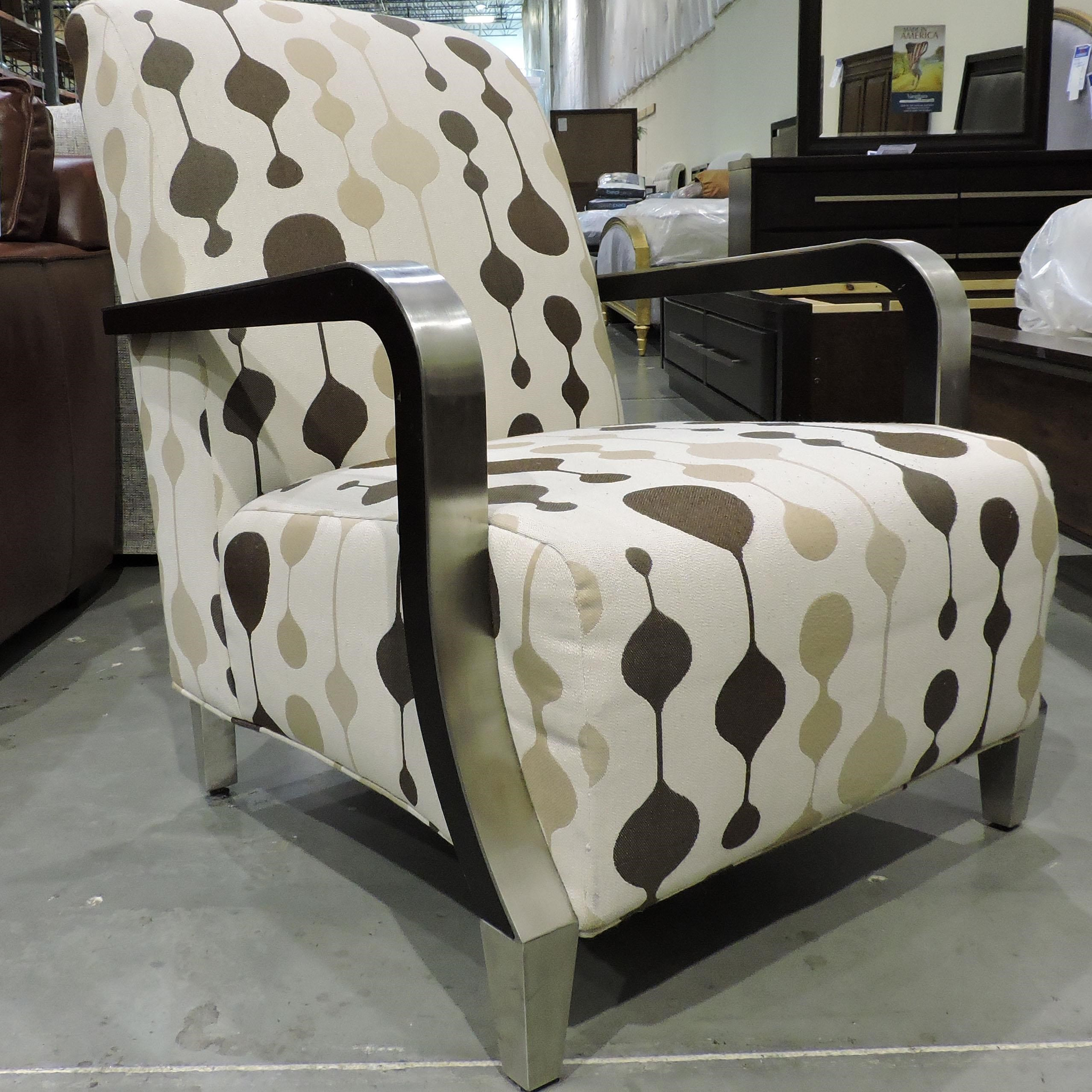 Sam Moore Clearance Metal Trim Chair - Item Number: 507740907