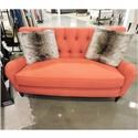 Sam Moore Clearance Tufted Settee - Item Number: 715436389