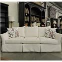 Sam Moore Clearance Upholstered Sofa - Item Number: 837726042