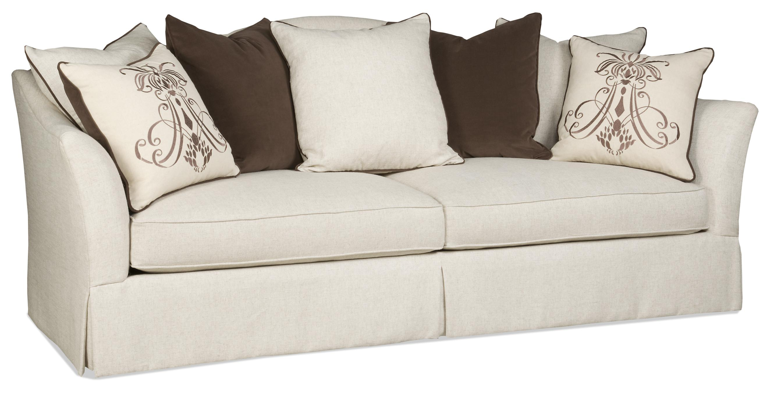 Sam Moore Angelina Transitional Terback Sofa With Flair Tapered Arms And Skirt Ahfa Dealer Locator