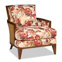 Sam Moore Arabella Coastal Rustic Exposed Wood Chair with Woven Wicker - 4650.22