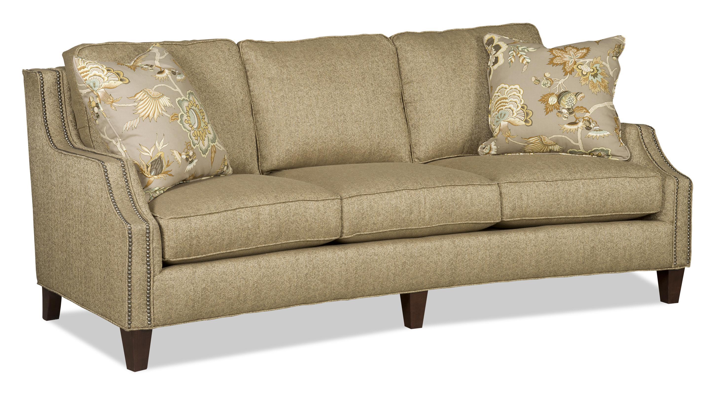 Sam Moore Austin 3 Over 3 Sofa - Item Number: 7001-002-2697 Jute