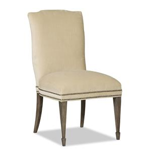 Beckett 3911 Upholstered Dining Side Chair by Sam Moore