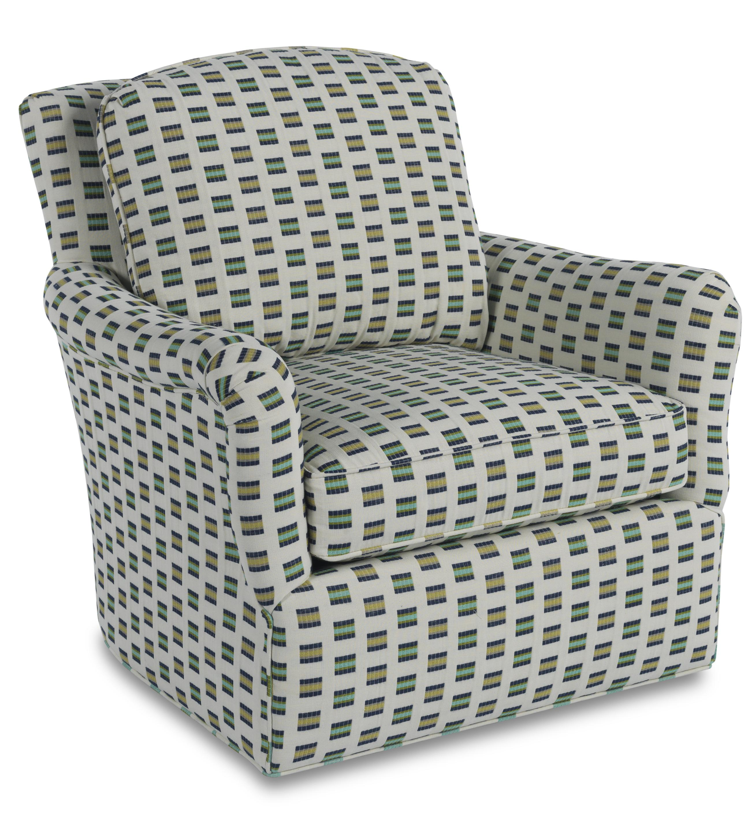 Sam Moore Birkdelle Contemporary Swivel Gliding Chair With