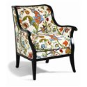 Sam Moore Cadence Exposed Wood Chair - Item Number: 4384.21