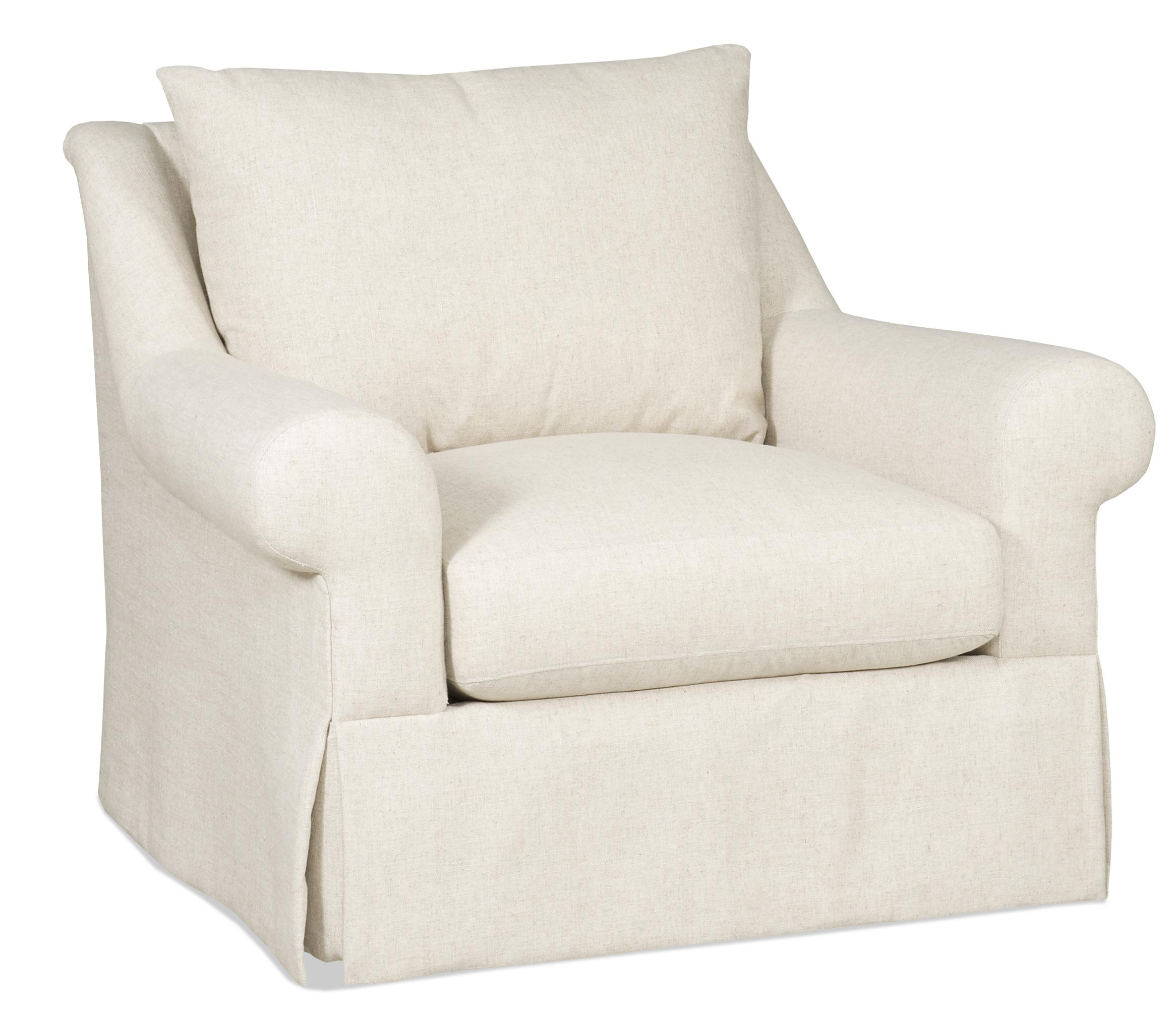 Sam Moore Carson 7006 005 Traditional Skirted Chair With