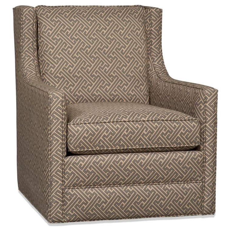 Sam Moore Cedric Contemporary Swivel Glider Chair