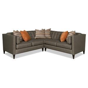 Sam Moore Eaton 2 Pc Sectional Sofa