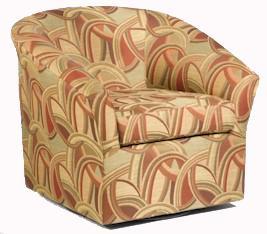 Sam Moore Edgar Upholstered Swivel Chairs