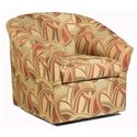 Sam Moore Edgar Upholstered Swivel Chairs - Item Number: 1352-51