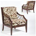 Sam Moore Ellis Exposed Wood Chair - Item Number: 4254-22