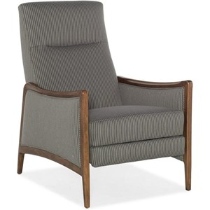 Sam Moore Annick Traditional Hi Leg Recliner With Rolled