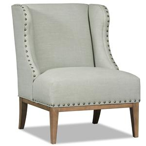 Sam Moore Linnea Transitional Wing Chair