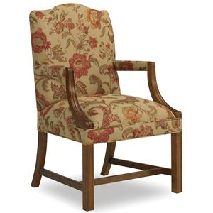 Sam Moore Martha Exposed Wood Arm Chair