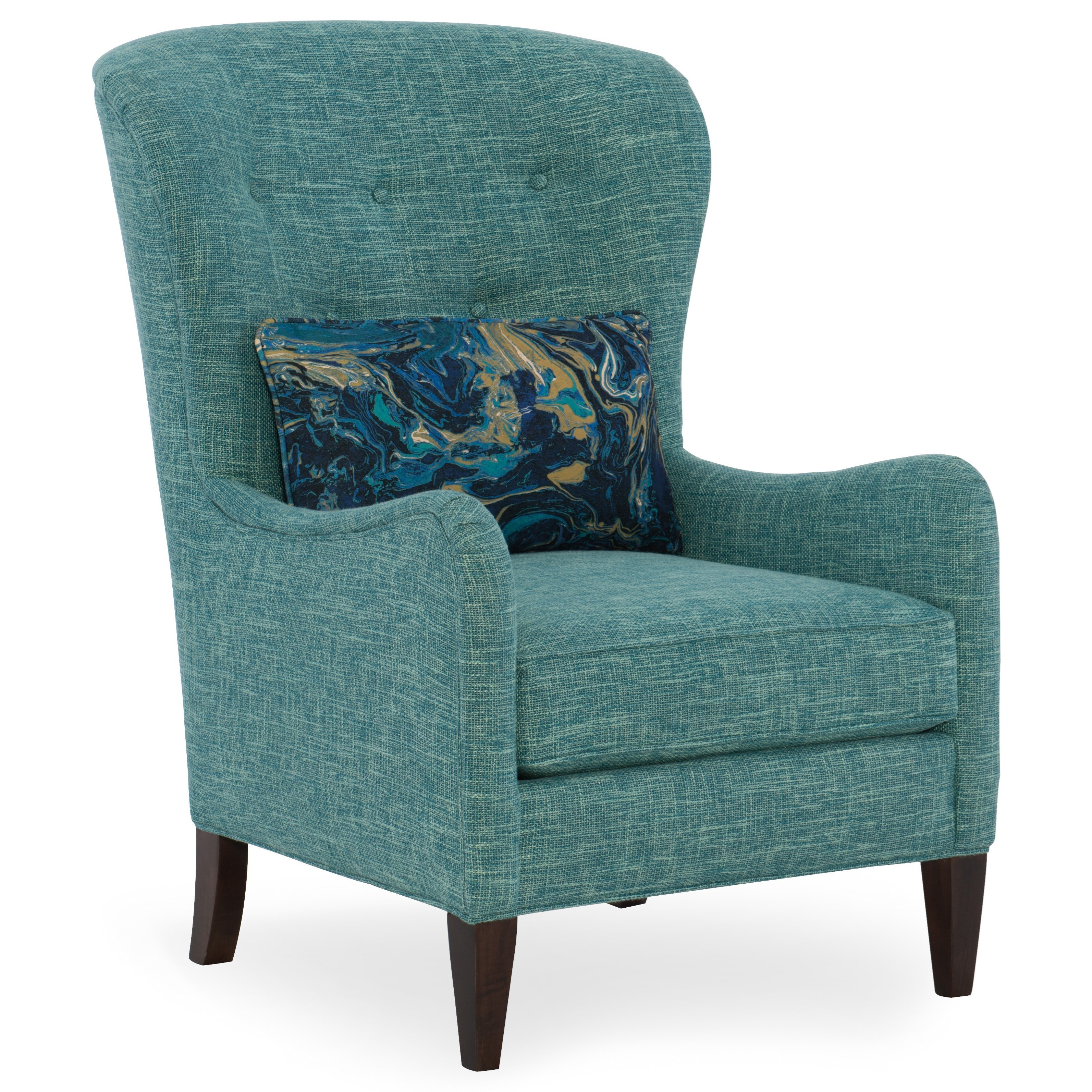 Sam Moore Mavis 2090 Transitional Tufted Back Chair Dunk
