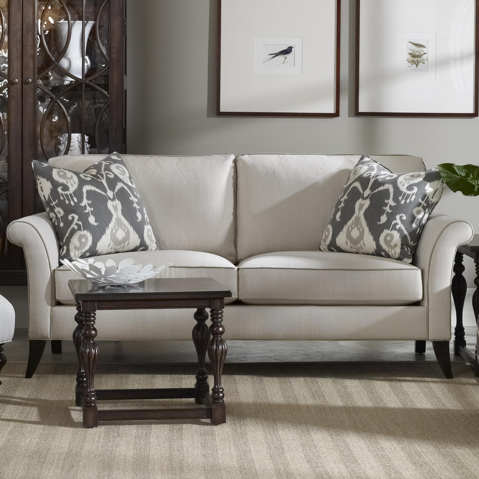 Sam Moore Quinn Transitional Two Over Two Sofa Belfort