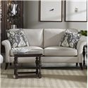 Sam Moore Quinn Transitional Two Over Two Sofa Darvin Furniture Sofa
