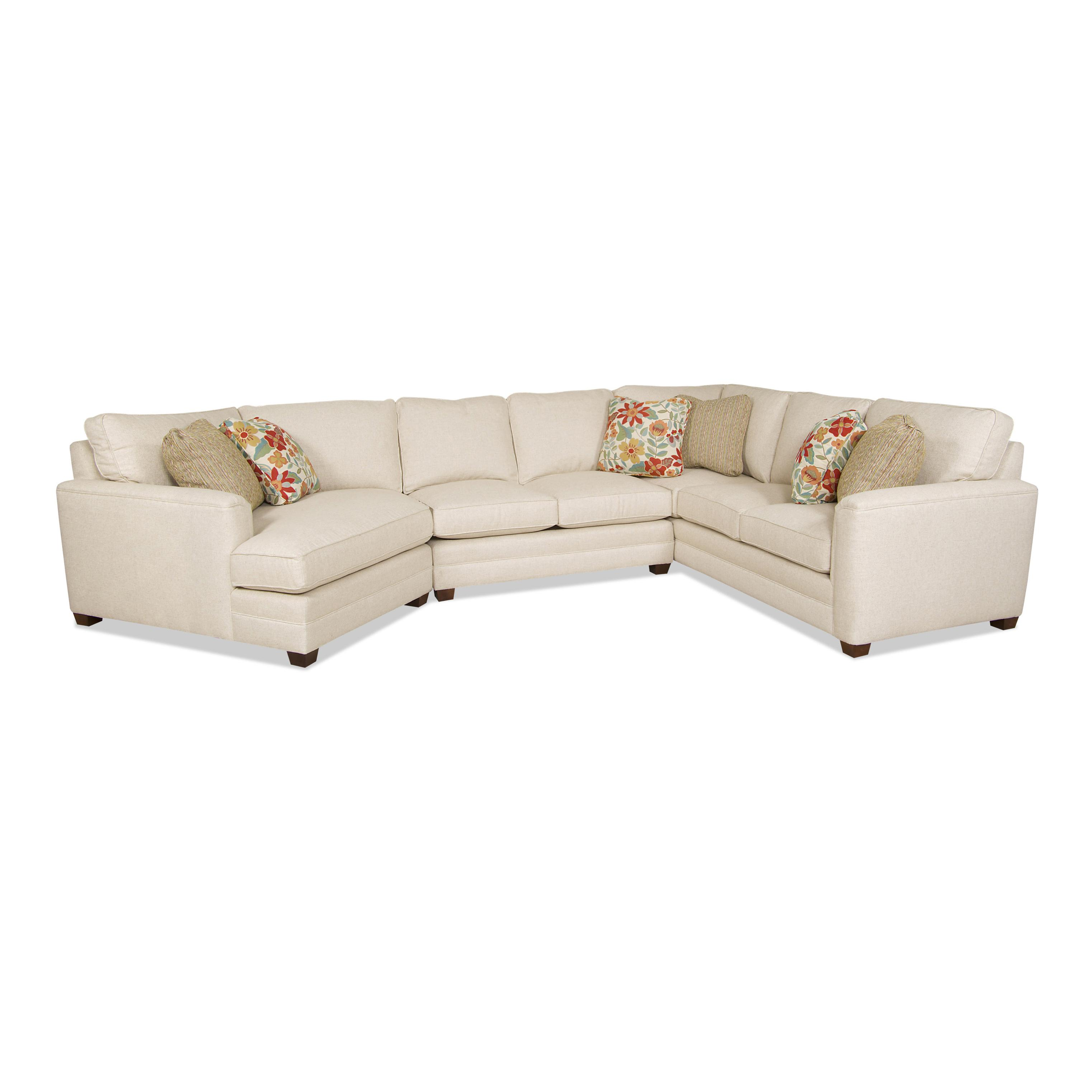 Superieur Raleigh Transitional Sectional Sofa By Sam Moore