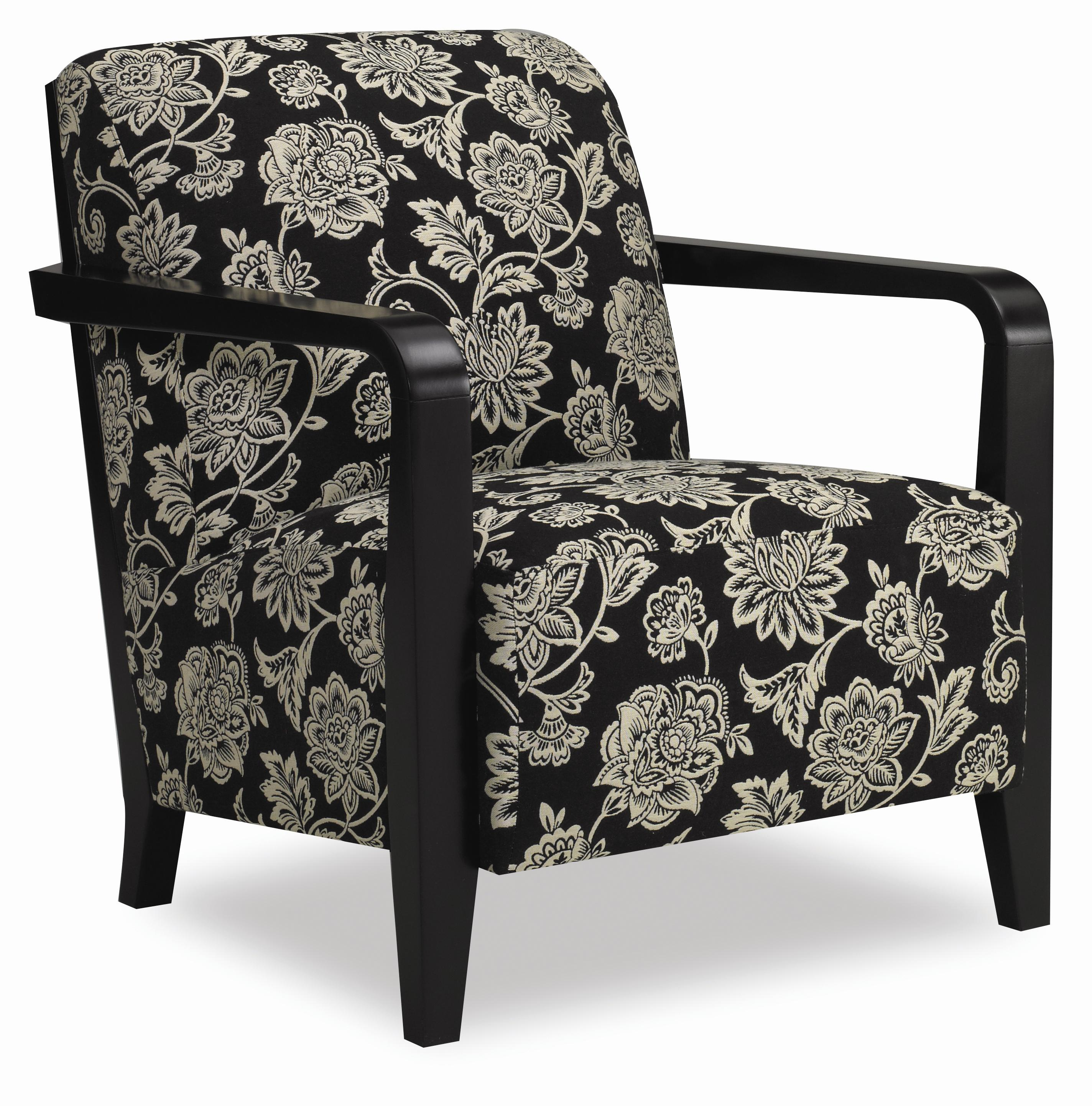 Sam Moore Thomas 4260 Contemporary Exposed Wood Chair   AHFA   Upholstered  Chair Dealer Locator