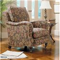 Sam Moore Tyler Traditional Upholstered Chair - Shown in Room Setting