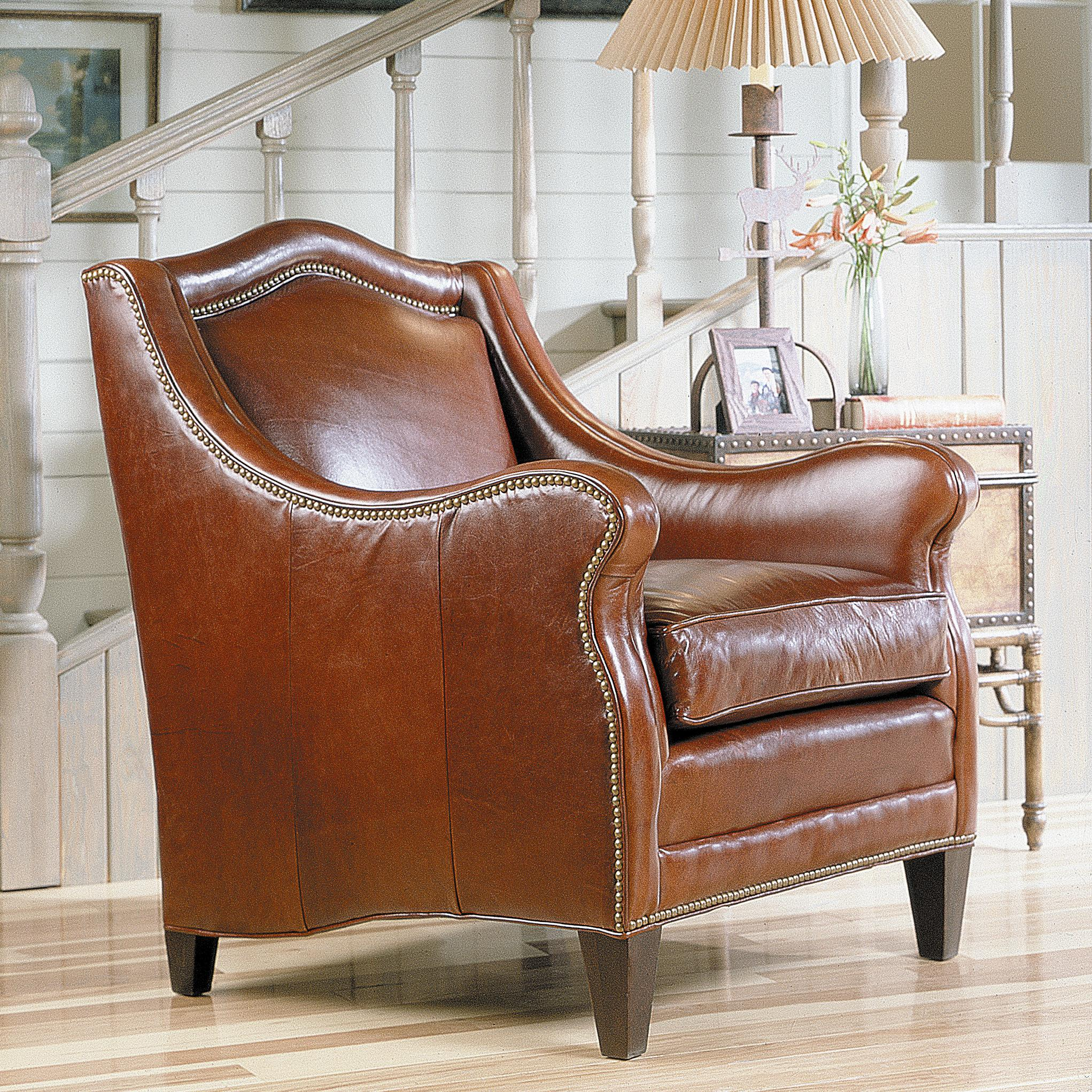 Superior Sam Moore Windsor Traditional Club Wing Chair With Nailhead Trim   AHFA    Wing Chair Dealer Locator