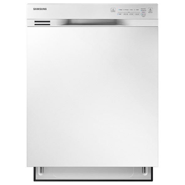 Samsung Appliances Dishwashers Front Control Dishwasher - Item Number: DW80J3020UW