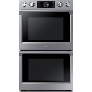 "Samsung Appliances Double Wall Ovens - Samsung 30"" Double Wall Oven"