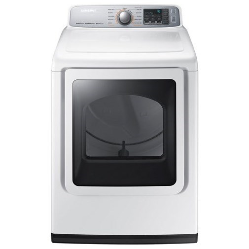 Samsung Appliances Dryers- Samsung 7.4 cu. ft. Electric Dryer - Item Number: DVE50M7450W