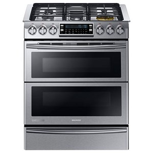 5.8 cu. ft. Slide-in Dual Fuel Range