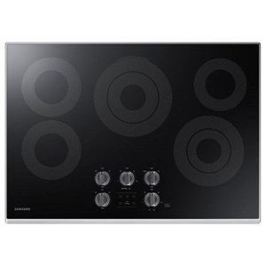 "Samsung Appliances Electric Cooktops - Samsung 30"" Electric Cooktop"