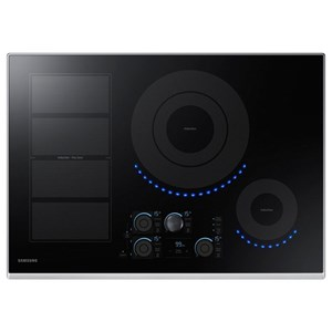 "Samsung Appliances Electric Cooktops - Samsung 30"" Induction Cooktop"