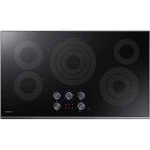 samsung appliances electric cooktops samsung 36u201d electric cooktop