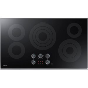 "Samsung Appliances Electric Cooktops - Samsung 36"" Electric Cooktop"