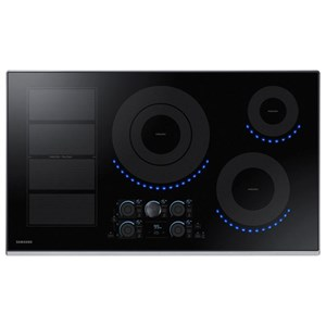 "Samsung Appliances Electric Cooktops - Samsung 36"" Induction Cooktop"