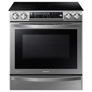 5.8 cu.ft. Slide-In Induction Range