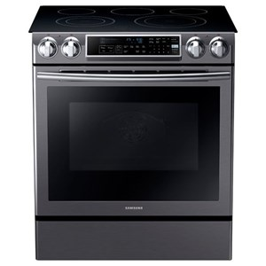 "Samsung Appliances Electric Range- Samsung 30"" Slide-In Electric Range"
