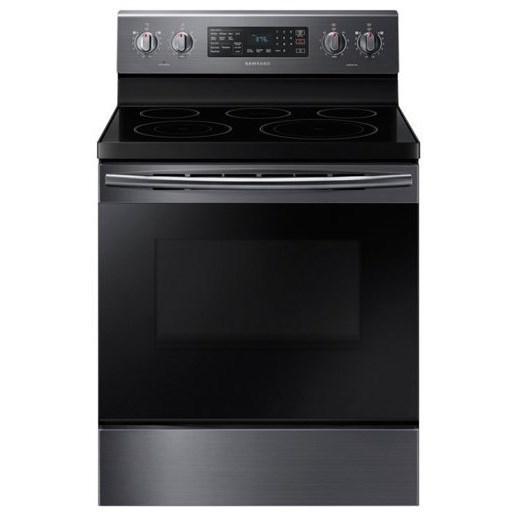 Samsung Appliances Electric Range- Samsung 5.9 cu. ft. Freestanding Electric Range - Item Number: NE59M4320SG