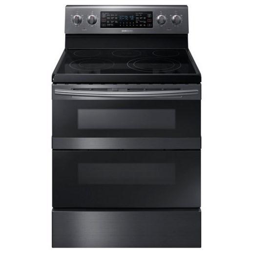 Samsung Appliances Electric Range- Samsung 5.9 cu. ft. Freestanding Electric Range - Item Number: NE59M6850SG