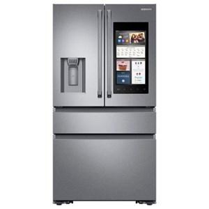 Samsung Appliances French Door Refrigerators 22 Cu.Ft. Counter Depth 4-Door French Fridge