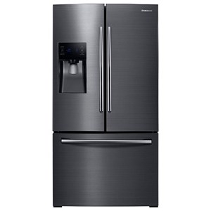 "Samsung Appliances French Door Refrigerators 36"" Wide, 25 Cu.Ft. French Door Refrigerator"