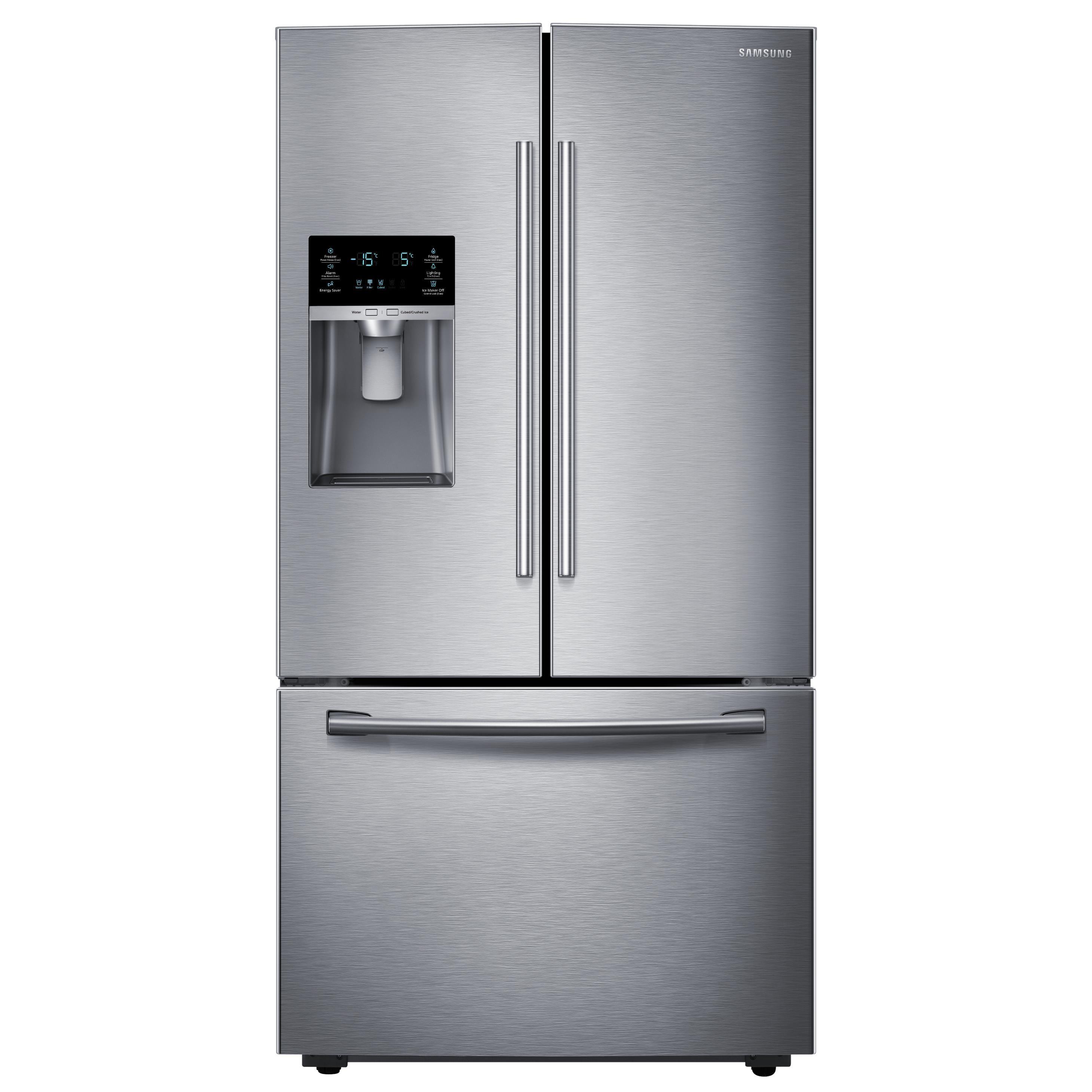 Samsung Appliances French Door Refrigerators 28 cu. ft. French Door Refrigerator - Item Number: RF28HFEDBSR